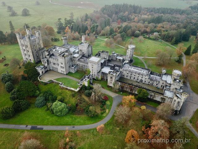 Belíssimo Penrhyn Castle, no País de Gales