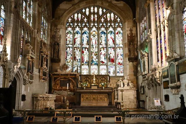 Passeio em Stratford-Upon-Avon: o túmulo de Shakespeare