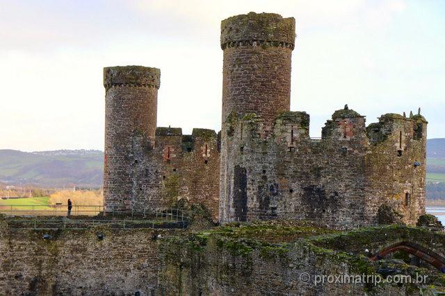 O que fazer em Conwy: O castelo de mais de 700 anos é a principal atração!