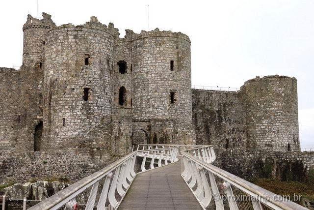 Castelo de Harlech: um dos lugares imperdíveis para visitar no País de Gales!