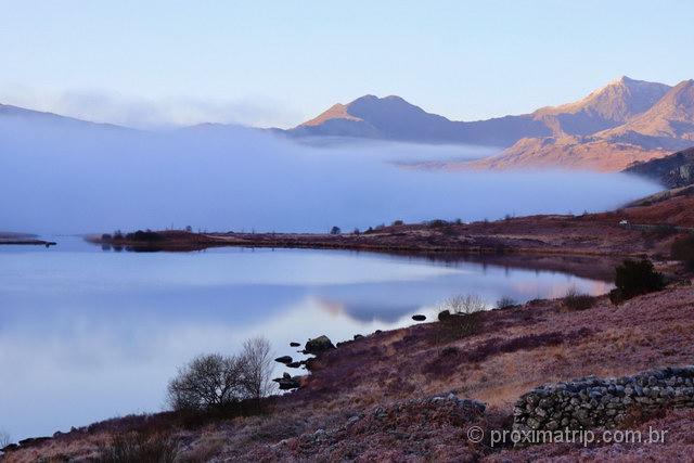 O que fazer no País de Gales: paisagens no Snowdonia National Park