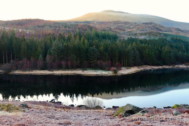 Explorando as belezas naturais de Snowdonia: Llynnau Mymbyr
