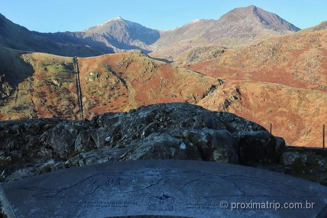 Snowdon: a montanha mais alta do País de Gales