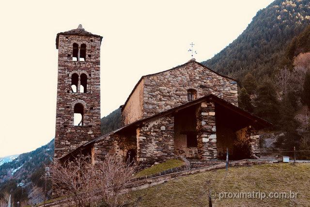 Igrejas românicas: umas das principais atrações em Andorra