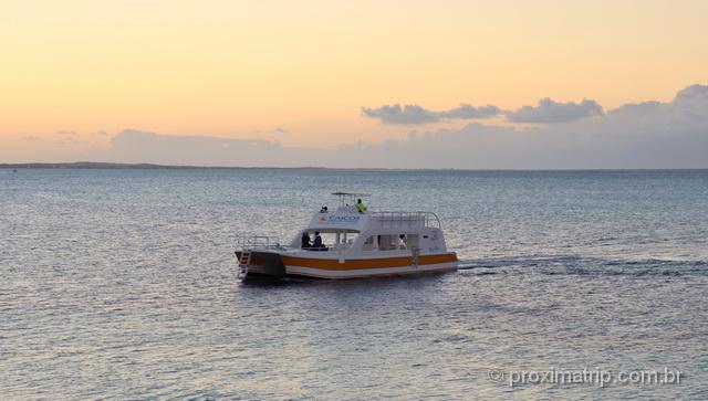 Passeio de barco em Turks e Caicos
