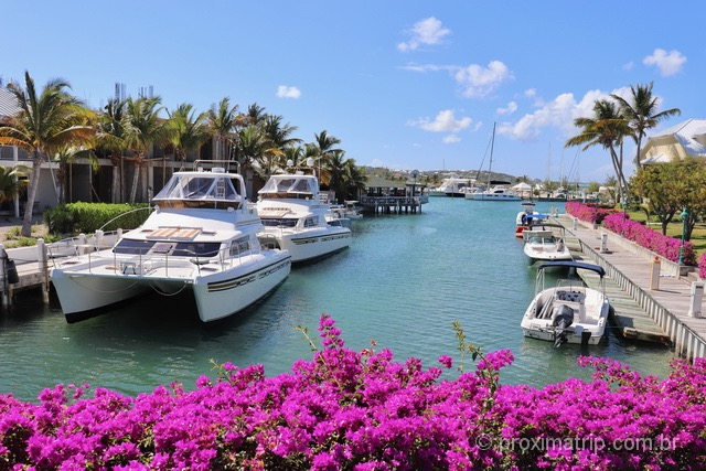 Atração turística em Providenciales, Turks and Caicos: Marina Turtle Cove