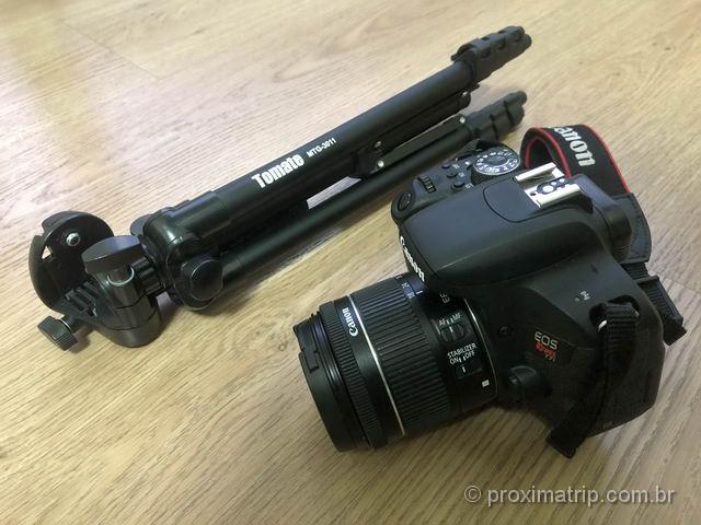 equipamento para fotografar a aurora boreal