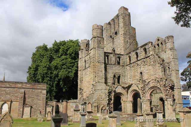 A Abadia de Kelso: uma das atrações medievais de Northumberland