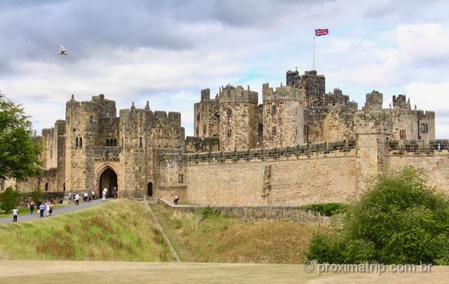Castelo de Alnwick: o castelo de Harry Potter, no interior da Inglaterra