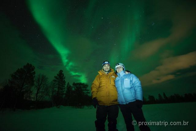caçadores de Aurora: missão cumprida em Tromso!