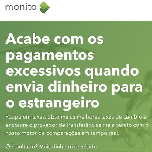 mandar dinheiro para Portugal: compare as melhores taxas no Monito!