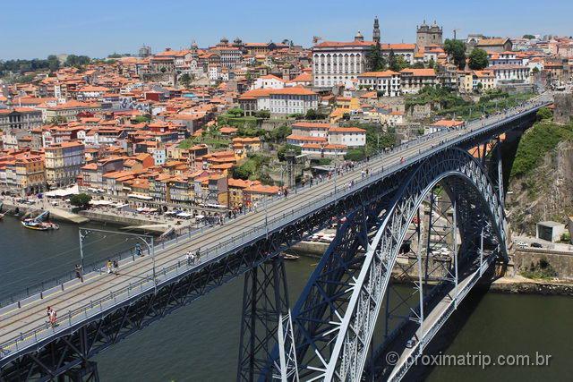 Ponte Luis I na cidade do Porto - Portugal