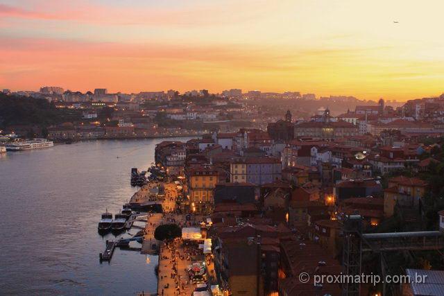 Onde assistir o pôr do sol em Porto - Portugal