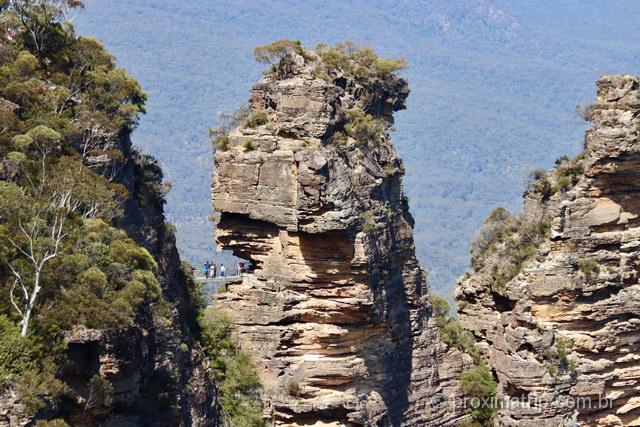 Trilha Three Sisters Walk, no Blue Mountains National Park