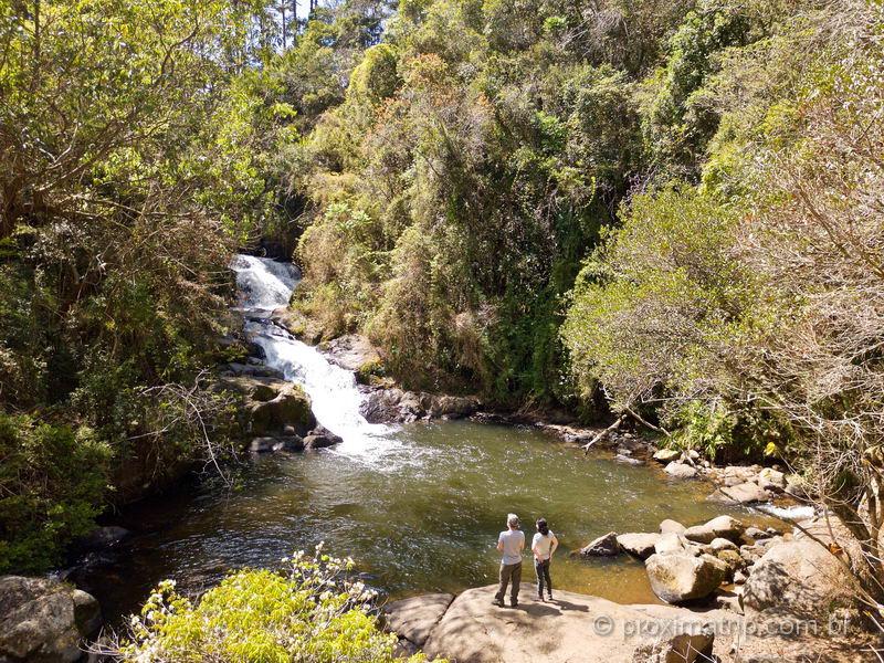 Cachoeira do Simão, em Gonçalves