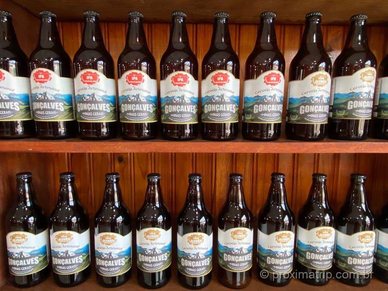 cervejas artesanais em Gonçalves MG
