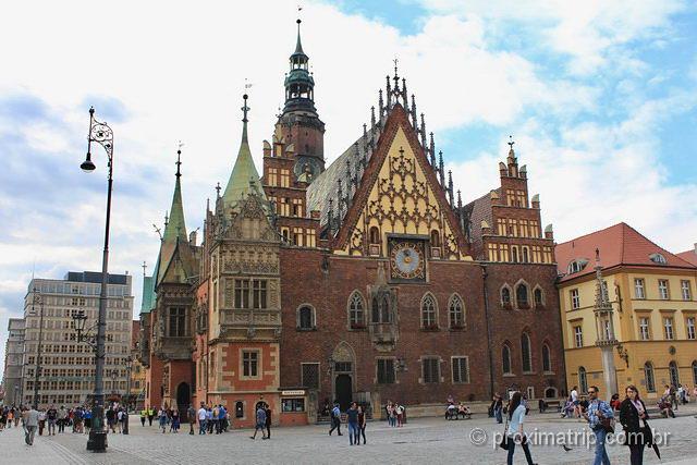 praça mercado Wroclaw