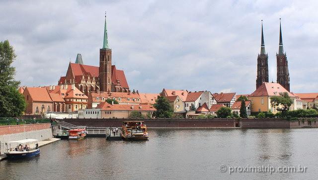 Ilha das Catedrais em Wroclaw