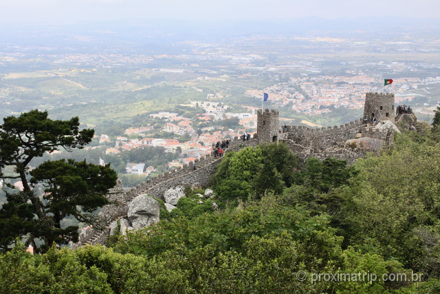 O que fazer em Sintra - Castelo dos Mouros