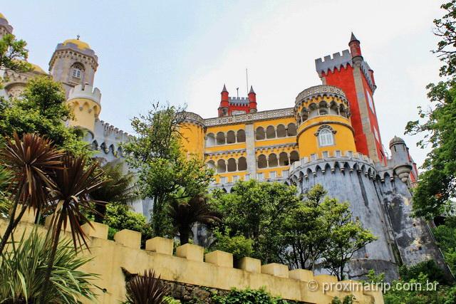 O que fazer em Sintra - Palácio Nacional da Pena