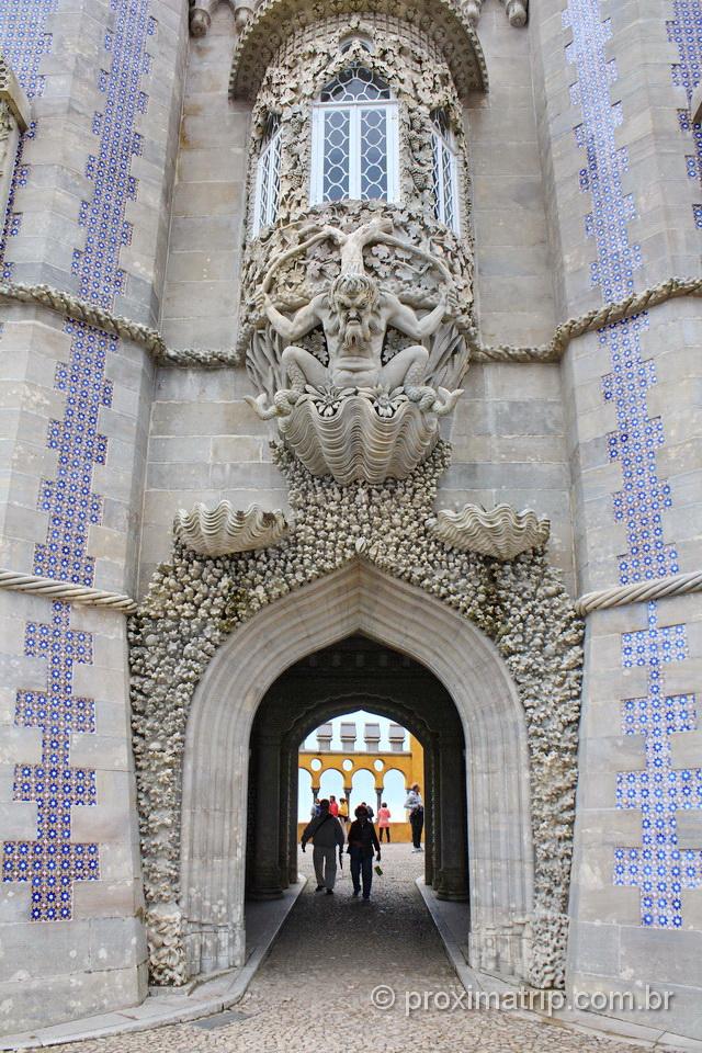 O que fazer em Sintra - Arquitetura do Palácio Nacional da Pena