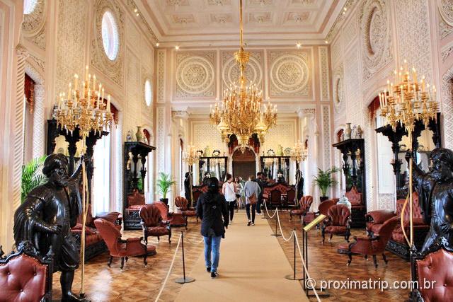 Interior do Palácio Nacional da Pena