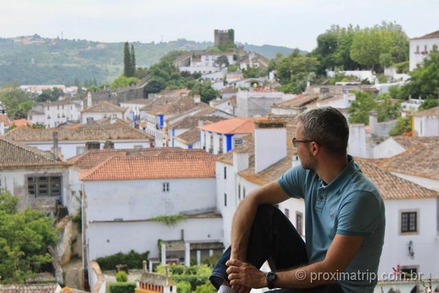 Mirante da cidade de Óbidos