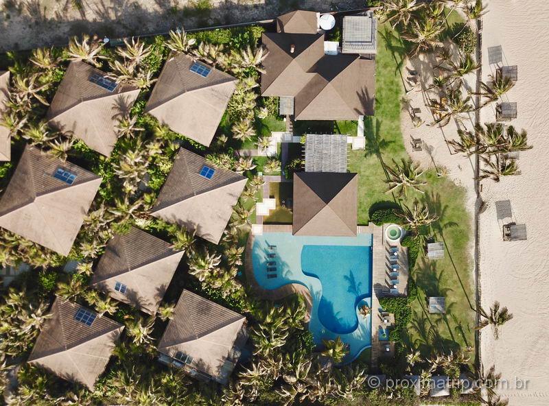 Zorah Beach Hotel, imagem de drone
