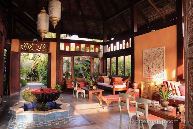 Lobby Zorah Beach Hotel