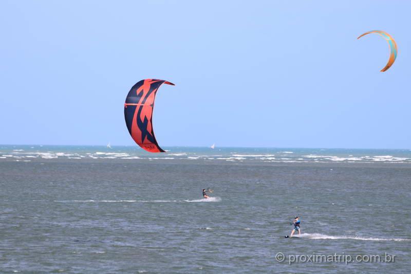 kitesurf em Fortim