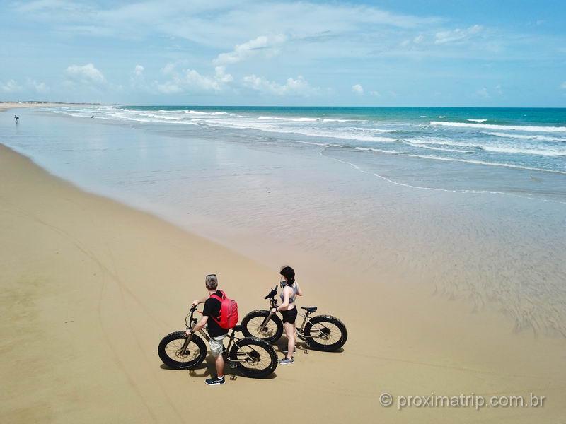 Praia da Taíba: um passeio de bike