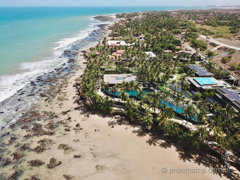 Carmel Taíba Exclusive Resort, visto com drone