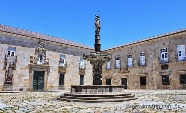 Reitoria da Universidade do Minho, em Braga