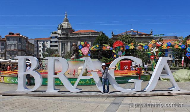 Letreiro de Braga