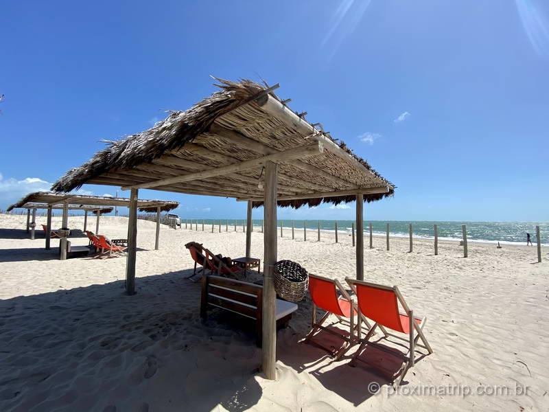 Jaguaribe Lodge & Kite - área da praia
