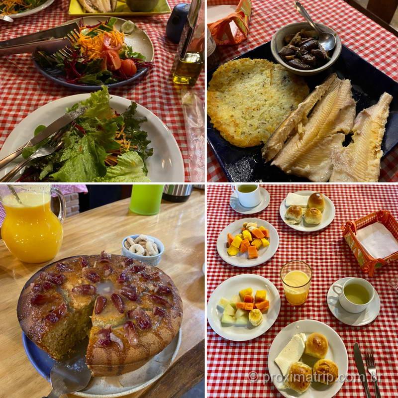 Gastronomia local em Cunha, interior de São Paulo