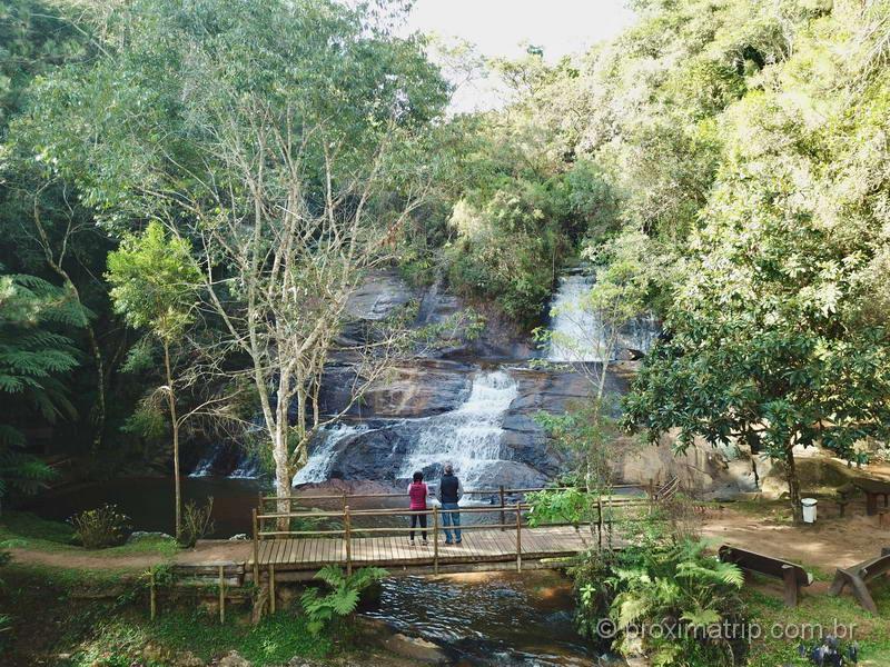 Cachoeira em Cunha, interior de São Paulo