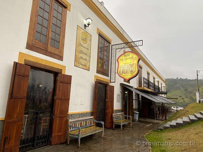 Cervejaria Artesanal em Cunha, na beira da rodovia SP 171