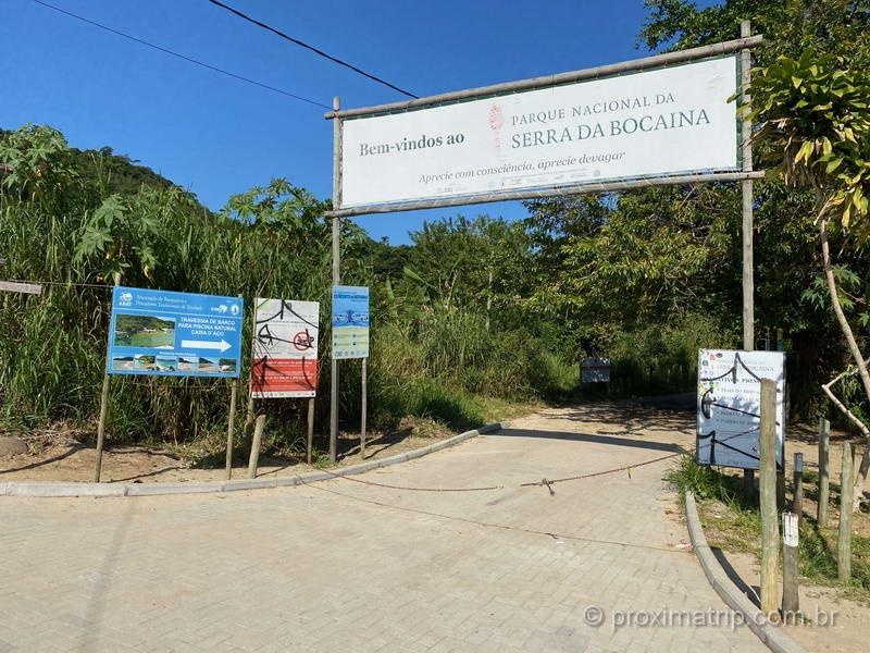 Área do Parque Nacional da Serra da Bocaina, em Trindade, RJ.