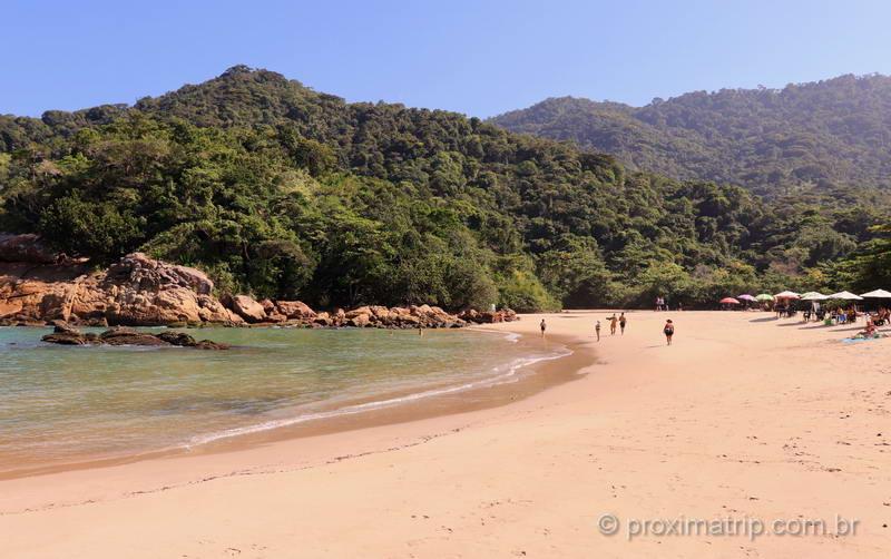 A mais bela praia de Trindade: Praia do Meio