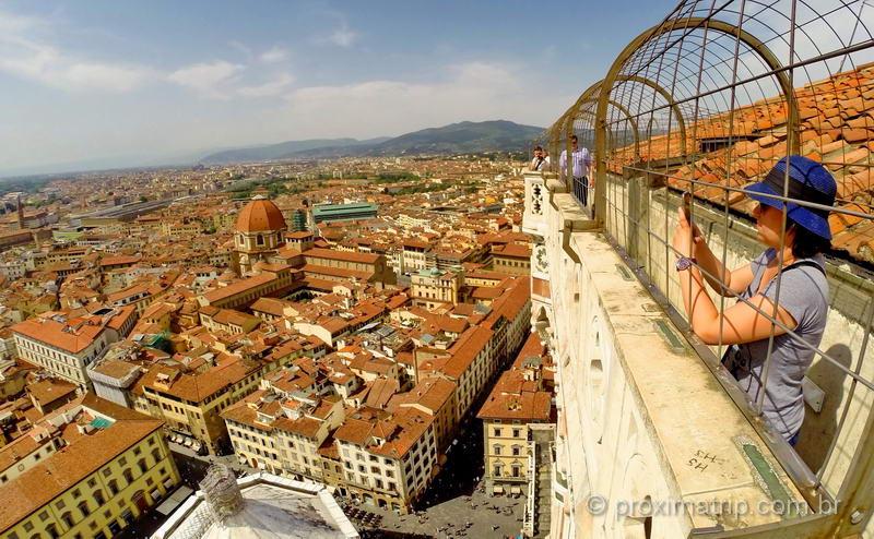 o que fazer em florença - Torre de Giotto