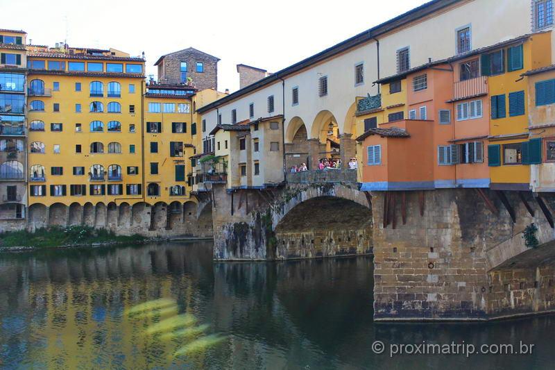 o que fazer em florenca ponte Vecchio